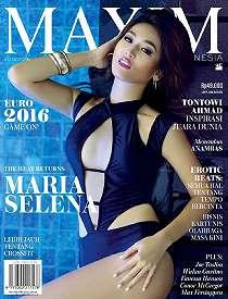 Full Foto Hot Cantik Seksi Maria Selena Di Majalah Maxim