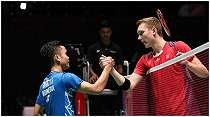 Semifinal Thailand Open 2021: Hadapi Viktor Axelsen, Kesempatan Ginting Balaskan Kekalahan Jojo