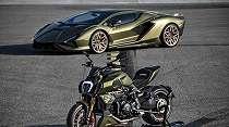 Motor Kolaborasi Ducati Diavel 1260 Lamborghini Hanya Akan Diproduksi 630 Unit
