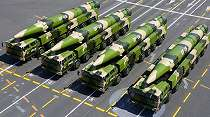China Sebar Rudal Hipersonik DF-17 ke Wilayah Pesisir yang Berhadapan dengan Taiwan