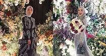 6 Cara memakai jilbab segi empat untuk resepsi