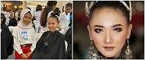5 Fakta Lovely, makeup artist cilik yang viral bak profesional