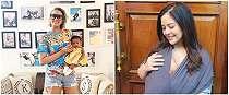Cara 30 seleb hot mom saat gendong bayi, terampil banget
