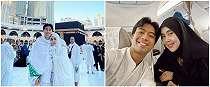 5 Momen umrah Vidi Aldiano bersama ibu, rasa syukur pasca ujian