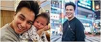 Pamer foto masa kecil, paras Baim Wong mirip banget sang anak
