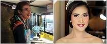 10 Pesona Amanda Nurani, pedagang tahu cantik yang viral