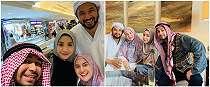 7 Momen keluarga Raffi Ahmad & Irish Bella ibadah umrah, kompak