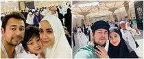 7 Momen Raffi Ahmad & Nagita Slavina umrah di hari ulang tahun