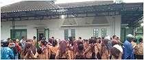 Tragis, ratusan siswa SMPN 1 Turi Sleman terseret arus sungai