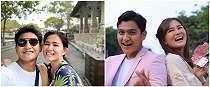 7 Potret mesra Masayu Clara dan Qausar Harta, cinlok dari FTV
