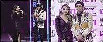 7 Potret kompak Atta Halilintar & Aurel di Billboard Music Awards