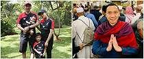 Unggah foto baca majalah, rambut Ibas Yudhoyono bikin salah fokus