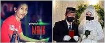 10 Potret pernikahan Cak Malik penabuh gendang Nella Kharisma