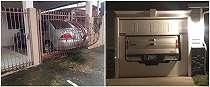 20 Potret lucu garasi kendaraan dengan desain nyeleneh, bikin nyengir