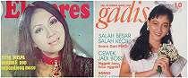10 Potret seleb kawakan jadi model sampul majalah lawas, menawan