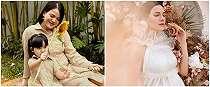 Hamil anak kedua, ini 6 gaya maternity Alice Norin yang menawan
