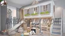 7 Potret desain ruang bermain anak Momo, wahananya bikin melongo