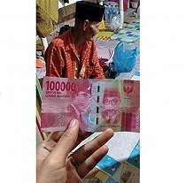 Kisah sedih kakek penjual gado-gado ditipu dengan uang mainan