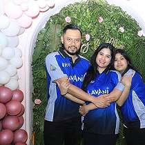 6 Momen ulang tahun ke-39 Annisa Pohan, penuh kehangatan
