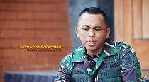 Kisah inspiratif Prada Anam, mantan kuli bangunan kini berseragam TNI