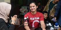 Serunya Aliando, Bryan Domani Hingga Surya Saputra Ikut Donor Darah