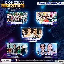 Pertama Kali Digelar, Intip Nominasi Lengkap 'Indonesia Drama Series Awards 2021'.