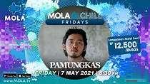 Pamungkas akan membuka Mola Chill Fridays dengan lagu-lagu hitsnya