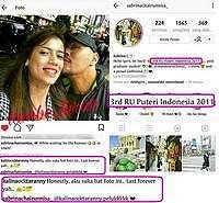 Deddy Corbuzier Cium Finalis Puteri Indonesia, Kalina Langsung Restui