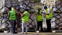 Pesawat yang mengangkut bantuan AS untuk Venezuela mendarat di Kolombia