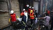 Kebakaran dahsyat lalap kota tua ibu kota Bangladesh, korban bertambah