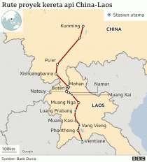 Proyek kereta api China-Laos: Mengapa China berambisi bangun rel kereta cepat di Asia Tenggara?