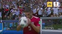 Piala Dunia 2018: Iran kalah tapi aksi jungkir balik pemainnya jadi sorotan utama