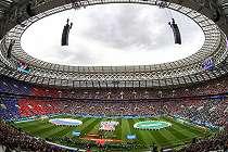 Warga Indonesia berburu tiket Piala Dunia 2018: 'Saya antre sembilan jam'