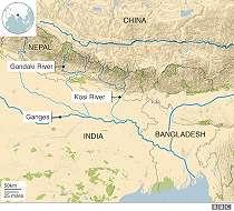 Musim hujan dan politik sungai di balik banjir di Nepal dan India