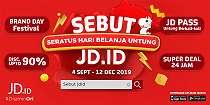 Kampanye SEBUT JD.ID, Seratus Hari Belanja Untung