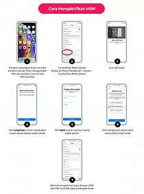 Cara Memesan eSIM Smartfren untuk iPhone Tanpa Harus Keluar Rumah