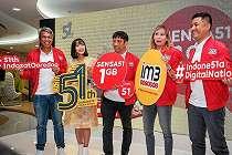 Rayakan Ulang Tahun Ke-51, Indosat Ooredoo Hadirkan Paket Sensa51 1 GB Seharga 51 Rupiah