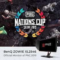 BenQ ZOWIE XL2546 Jadi Monitor Gaming Resmi PUBG Nations Cup 2019 di Korea
