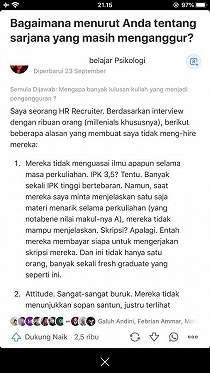 HRD Ungkap Alasan Ogah Rekrut Milenial, Fresh Graduate: Tertohok
