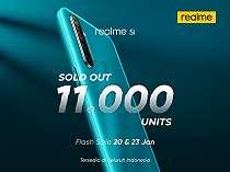 Pecahkan Rekor, Realme 5i Terjual Habis 11.000 Unit 2 Kali Flash Sale