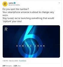 Penampakannya Bocor, Realme 6 Series Siap Meluncur Sebentar Lagi