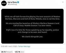 Season Anyar Call of Duty Ditunda, Ini Penyebabnya