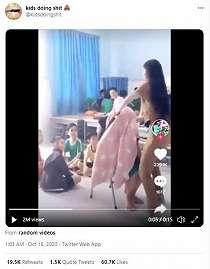 Lihat Trik Sulap 'Hilang Kepala', Reaksi Sang Bocah Bikin Netizen Geli