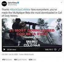 Cetak Rekor, COD Black Ops Cold War Beta Jadi Seri Paling Banyak Diunduh