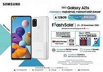 Samsung Galaxy A21s Hadirkan Varian Memori Besar, Berapa Harganya?