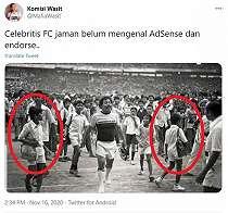 Foto Lawas Benyamin Sueb Saat Main Bola Viral, Netizen Malah Fokus ke Ini