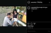 Potret Polisi dan Gadis Cantik Ini Viral, Netizen: Modus Teros