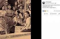 Viral Foto Jadul Muda-mudi 1970-an, Netizen Kagumi Kecantikan Khasnya