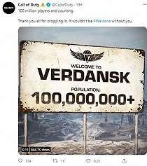 Call of Duty Warzone Capai 100 Juta Pemain, Pertumbuhannya Signifikan!