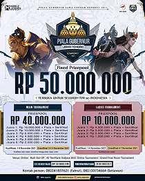 Gamer Mobile Legends Merapat, Piala Gubernur Jawa Tengah Esport 2021 Dibuka